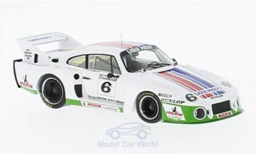 Porsche 935 1980 1/43 Spark J No.6 Liqui Moly DRM Bergischer Löwe Zolder 1980 R.Stommelen miniature