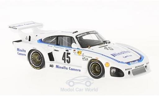 Porsche 935 1979 1/43 Spark K3 No.45 24h Le Mans 1979 A.Plankenhorn/P.Gurdjian/J.Winter miniature