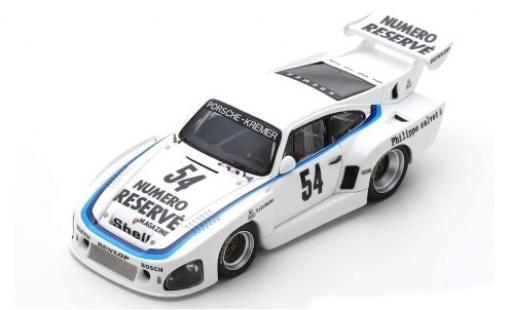 Porsche 935 1/43 Spark K3 No.54 Kremer DRM Zolder 1979 K.Ludwig modellautos
