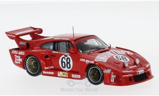 Porsche 935 1980 1/43 Spark K3 No.68 Hawaiian Tropic 24h Le Mans 1980 S.McKitterick/L.Walger/C.Mendez miniature