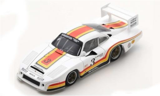 Porsche 935 1/43 Spark L No.3 6h Riverside 1982 A.Holbert/H.Grohs miniature