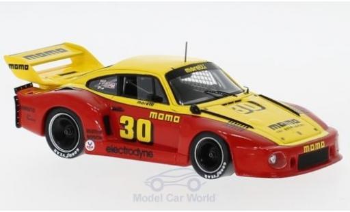 Porsche 935 1978 1/43 Spark No.30 Momo 1000 Miles Portland 1978 G.Moretti miniature