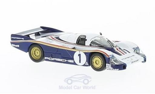Porsche 956 1982 1/64 Spark No.1 24h Le Mans J.Ickx/D.Bell diecast model cars