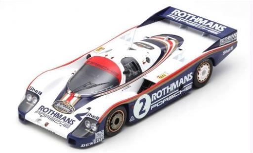 Porsche 956 1982 1/18 Spark No.2 Rothmans Rothmans 24h Le Mans J.Mass/V.Schuppan miniature