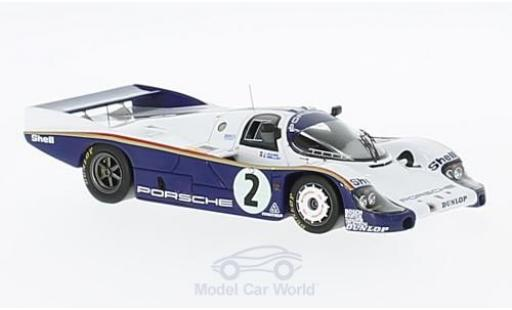Porsche 956 1983 1/43 Spark No.2 Rothmans Rothmans 24h Le Mans 1983 mit Decals J.Mass/S.Bellof miniature
