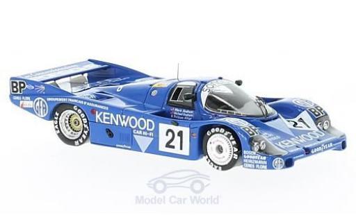 Porsche 956 1983 1/43 Spark RHD No.21 Sonauto Kenwood 24h Le Mans M.Andretti/M.Andretti/P.Alliot diecast model cars