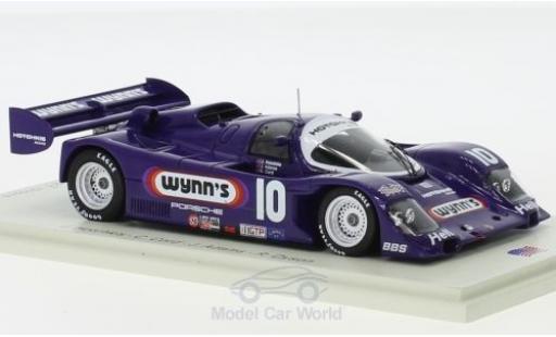 Porsche 962 1/43 Spark RHD No.10 Hotchkis Racing Wynns 24h Daytona 1991 J.Hotchkis/C.Cord/J.Adams/R.Dyson diecast