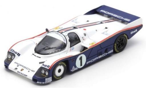 Porsche 962 1985 1/43 Spark C RHD No.1 Rothmans 24h Le Mans avec Decals J.Ickx/J.Mass/D.Bell miniature