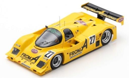 Porsche 962 1990 1/43 Spark C RHD No.27 Team From A STP 500km Sugo A.Nakaya/V.Weidler/Y.Hane diecast model cars