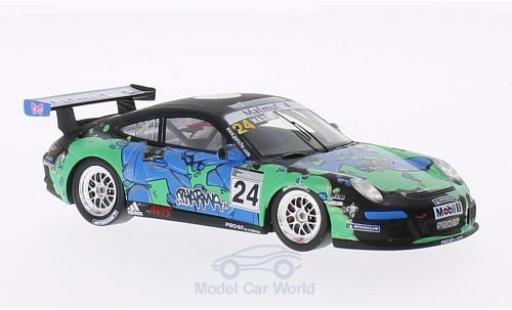 Porsche 997 GT3 CUP 1/43 Spark GT3 Cup No.24 Carrera Cup 2010 H.Hassid coche miniatura