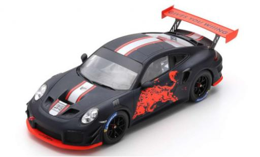 Aston Martin V8 Vantage GT2 1/18 Spark Porsche GT2 RS Clubsport matt-black/Dekor Red Bull 2019 diecast model cars