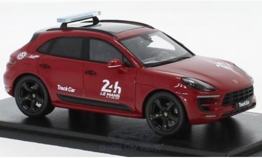 Porsche Macan 1/43 Spark GTS 24h Le Mans 2018 Track Truck miniature