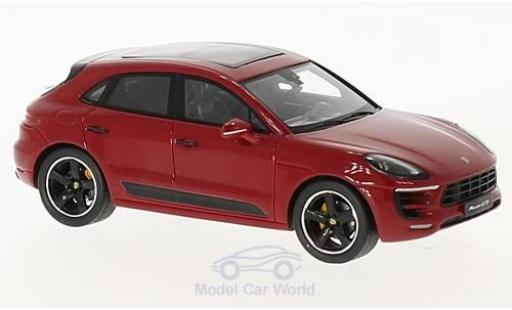 Porsche Macan GTS 1/43 Spark red 2017 diecast model cars