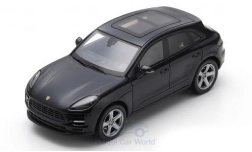 Porsche Macan 1/43 Spark black 2019 diecast model cars