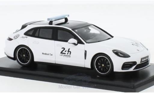 Porsche Panamera 1/43 Spark Sport Turismo 24h Le Mans 2018 Medical Car miniature