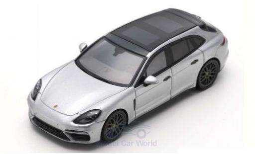 Porsche Panamera 1/43 Spark Turbo Sport Turismo grey 2018 diecast