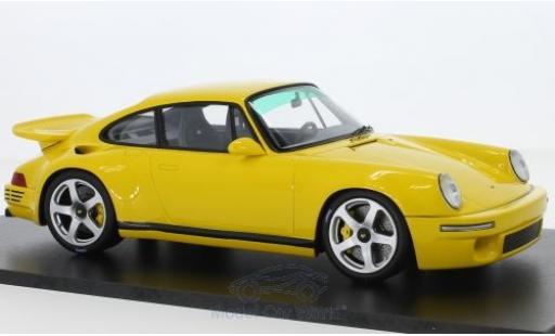Ruf CTR 1/18 Spark Porsche RUF giallo 2017 miniatura