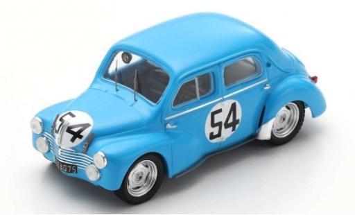 Renault 4CV 1/43 Spark 1063 No.54 24h Le Mans 1952 L.Pons/P.Moser miniature
