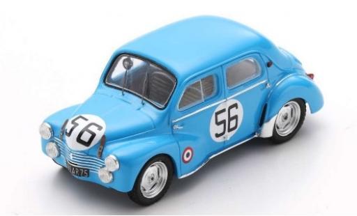Renault 4CV 1/43 Spark (1063) No.56 24h Le Mans 1952 J.-E.Vernet/J.Pairard diecast model cars