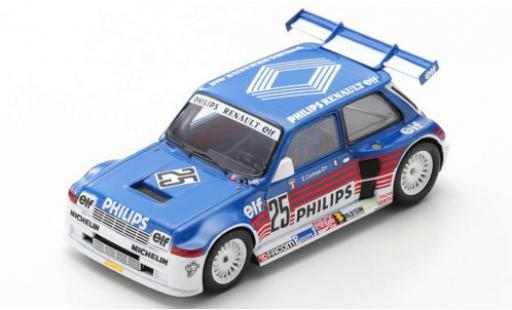 Renault 5 1/43 Spark Maxi Turbo Superproduction No.2 Philips 1987 E.Comas miniature