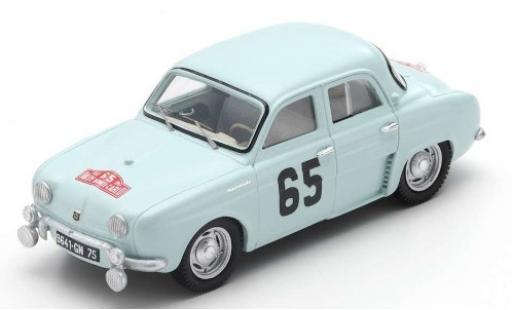Renault Dauphine 1/43 Spark No.65 Rallye Monte Carlo 1958 J.Feret/G.Monraisse diecast model cars