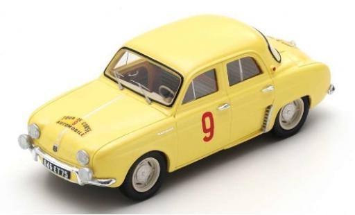 Renault Dauphine 1/43 Spark No.9 Tour de Corse 1956 G.Thirion/N.Ferrier miniature