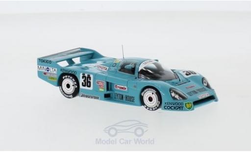 Toyota 86 1/43 Spark C RHD No.36 Leyton House 24h Le Mans 19 G.Lees/S.Nakajima/M.Sekiya diecast model cars