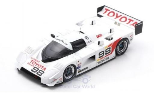 Toyota 88C 1/43 Spark No.98 Road Atlanta 1987 D.Olson/C.Cord diecast model cars