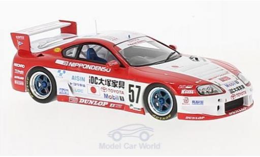 Toyota Supra 1/43 Spark LM No.57 24h Le Mans 1996 M.Kageyama/M.Sekiya/H.Mitsusada diecast model cars
