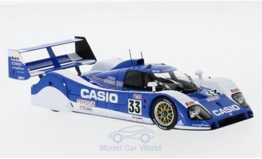 Toyota TS010 1/43 Spark No.33 Casio 24h Le Mans 1992 M.Sekiya/P-H.Raphanel/K.Acheson miniature