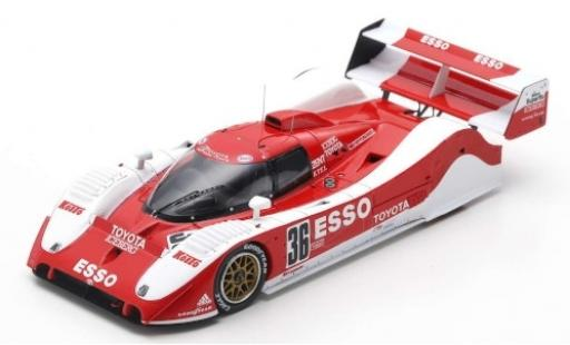 Toyota TS010 1/43 Spark No.36 Team Toms Esso 500km Mine 1992 G.Lees/J.Lammers miniature