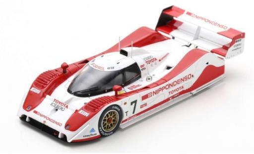 Toyota TS010 1/43 Spark No.7 500km Mine 1992 E.Irvine/J.Villeneuve/T.Kristensen miniature