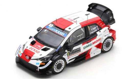 Toyota Yaris 1/43 Spark WRC No.1 Gazoo Racing Rallye WM Rallye Monte Carlo 2021 S.Ogier/J.Ingrassia diecast model cars