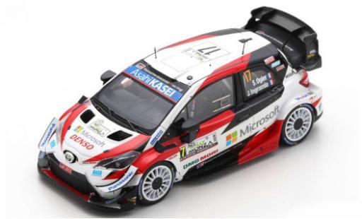Toyota Yaris 1/43 Spark WRC No.17 Microsoft Rallye WM Rally Monza 2020 S.Ogier/J.Ingrassia diecast model cars