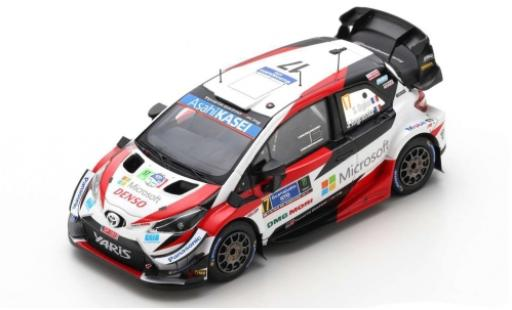 Toyota Yaris 1/43 Spark WRC No.17 Gazoo Racing Microsoft Rallye WM Rally Mexico 2020 S.Ogier/J.Ingrassia diecast model cars