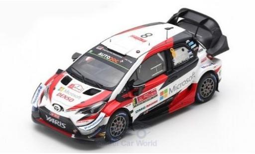 Toyota Yaris 1/43 Spark WRC No.8 Microsoft WRC Rally Portugal 2019 O.Tänak/M.Järveoja diecast model cars
