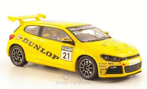 Volkswagen Scirocco R-Cup 1/43 Spark No.21 Dunlop miniature