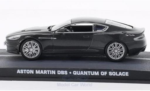 Aston Martin DBS 1/18 SpecialC 007 métallisé grise James Bond 007 Ein Quantum Trost ohne Vitrine miniature