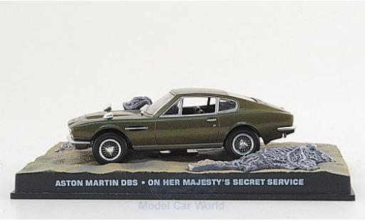 Aston Martin DBS 1/18 SpecialC 007 métallisé oliv James Bond 007 1969 Im Geheimdienst Ihrer Majestät ohne Vitrine miniature