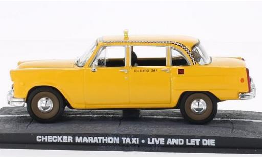 Checker Marathon 1/18 SpecialC 007 Taxi James Bond 007 Leben und sterben lassen ohne Vitrine miniature
