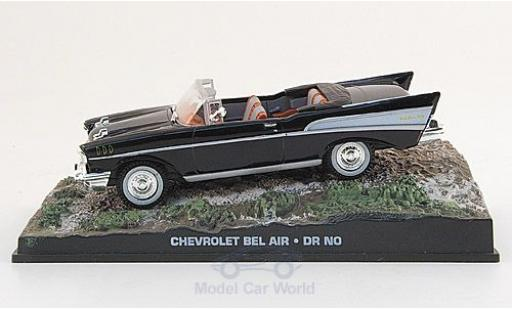 Chevrolet Bel Air 1/43 SpecialC 007 noire James Bond 007 1962 James Bond jagt Dr.No ohne Vitrine miniature