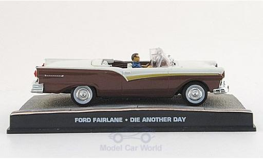 Ford Fairlane 1/43 SpecialC 007 Cabriolet marron/blanche James Bond 007 2002 Stirb an einen anderen Tag ohne Vitrine miniature