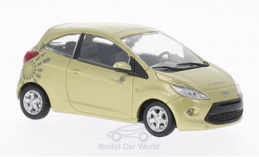 Ford Ka 1/43 SpecialC 007 gold James Bond 007 2008 Ein Quantum Trost ohne Vitrine miniature