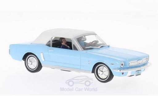 Ford Mustang 1/43 SpecialC 007 Convertible bleue/blanche James Bond 007 1965 Feuerball ohne Vitrine miniature