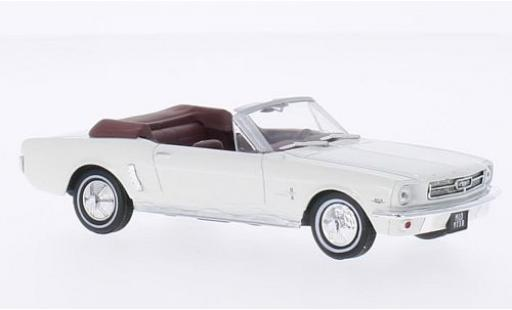 Ford Mustang 1/43 SpecialC 007 Convertible blanche James Bond 007 Goldfinger ohne Vitrine miniature