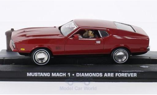 Ford Mustang 1/43 SpecialC 007 Mach 1 rouge James Bond 007 1965 Diamantenfieber ohne Vitrine miniature