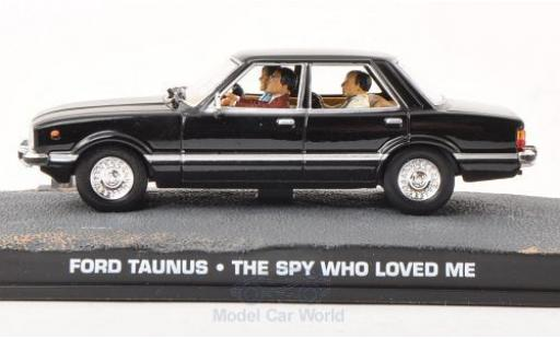 Ford Taunus 1/43 SpecialC 007 black James Bond 007 Der Spion der mich liebte ohne Vitrine diecast model cars