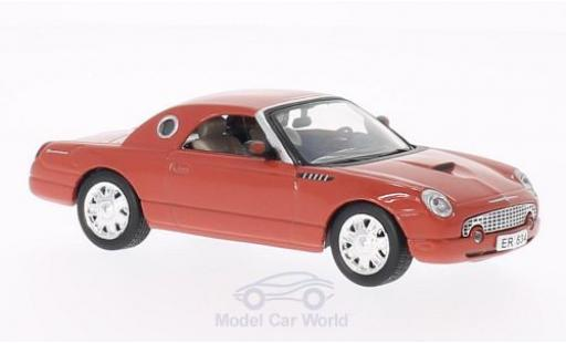 Ford Thunderbird 1/43 SpecialC 007 rouge James Bond 007 2002 Stirb an einem anderen Tag ohne Vitrine miniature