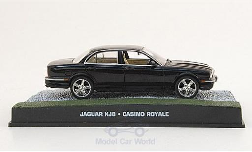 Jaguar XJ 1/43 SpecialC 007 8 noire James Bond 007 2006 Casino Royale ohne Vitrine miniature