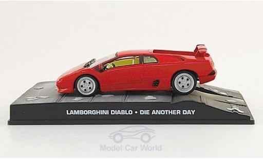 Lamborghini Diablo 1/43 SpecialC 007 red James Bond 007 2002 Stirb an einem anderen Tag ohne Vitrine diecast model cars